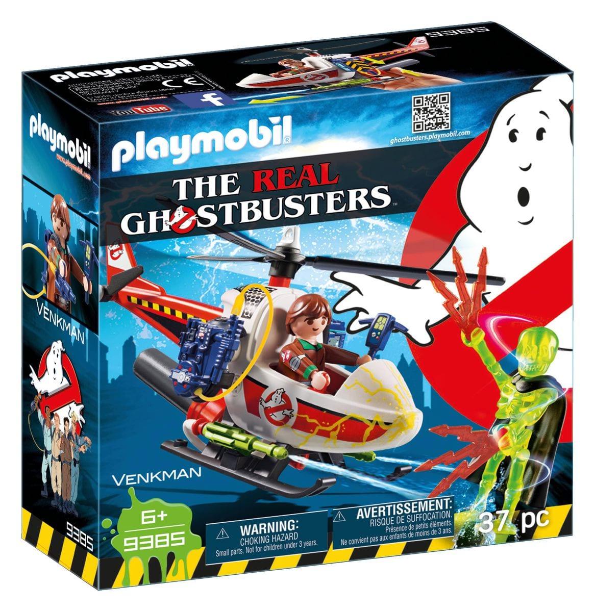 Playmobil Venkman avec hélicoptère