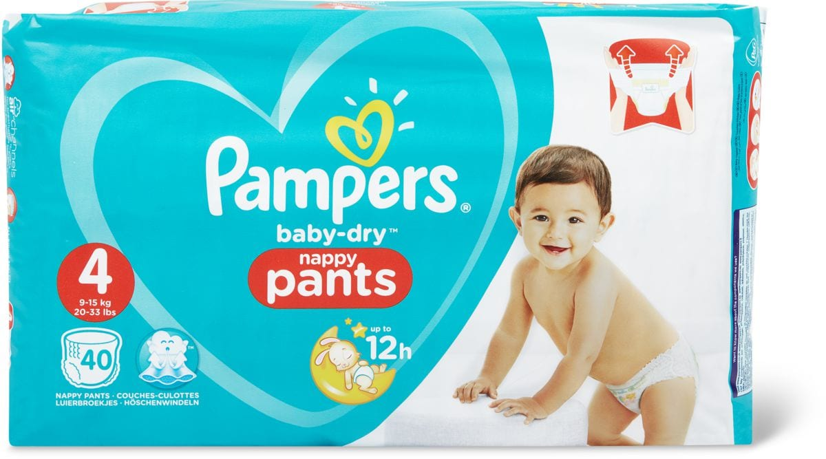 Pampers Baby Dry Pants 4
