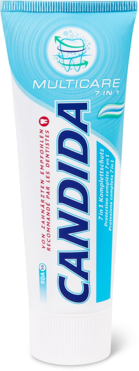 Candida dentifricio Multicare 7in1