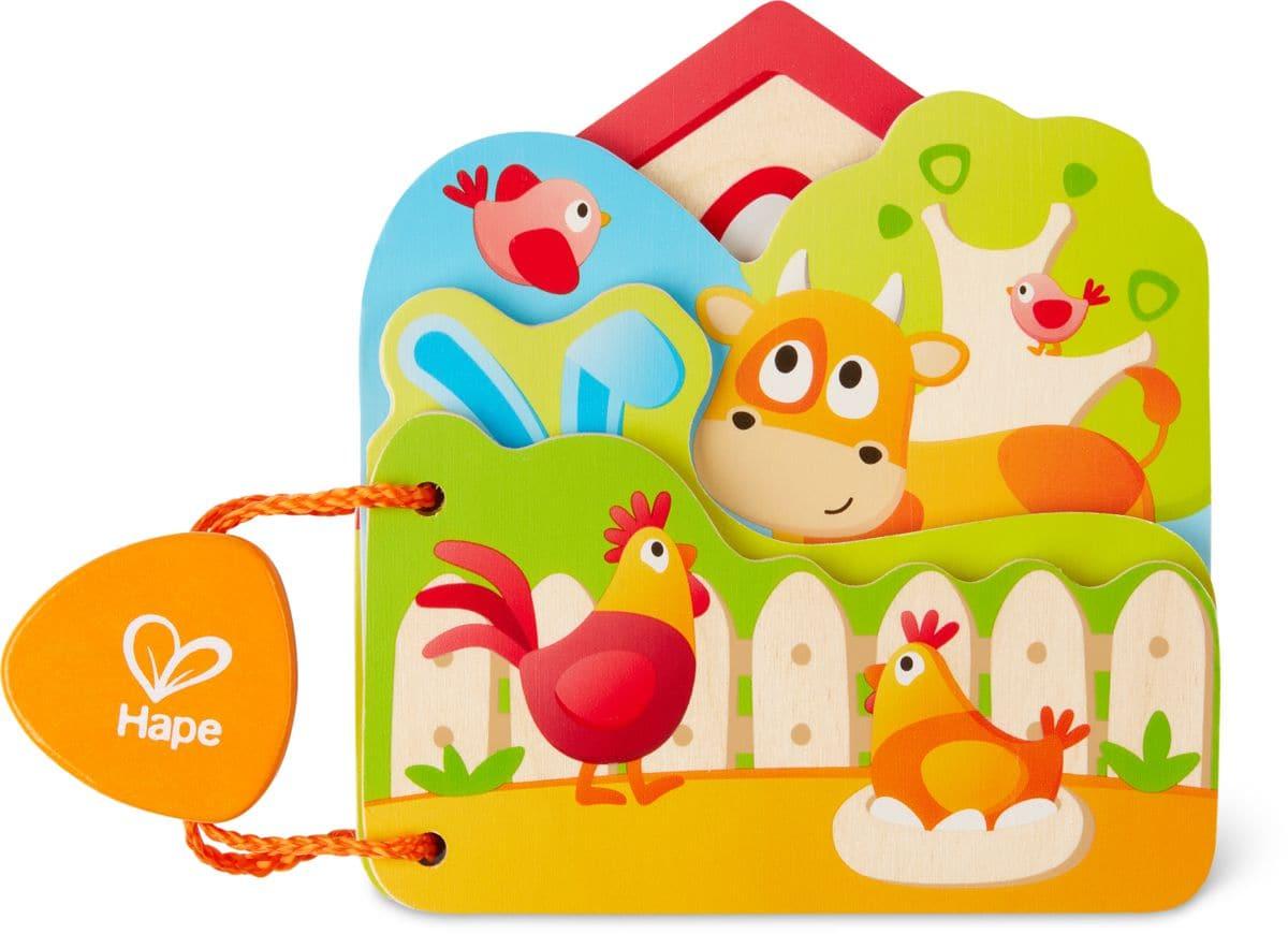 """Hape Baby-Buch """"Tiere Auf Dem Bauernhof"""""""