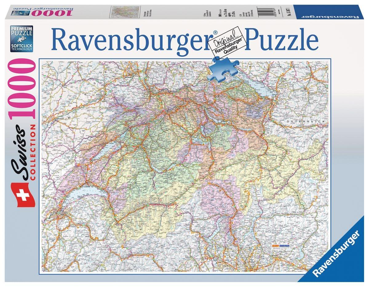 Ravensburger Schweizerkarte Puzzle