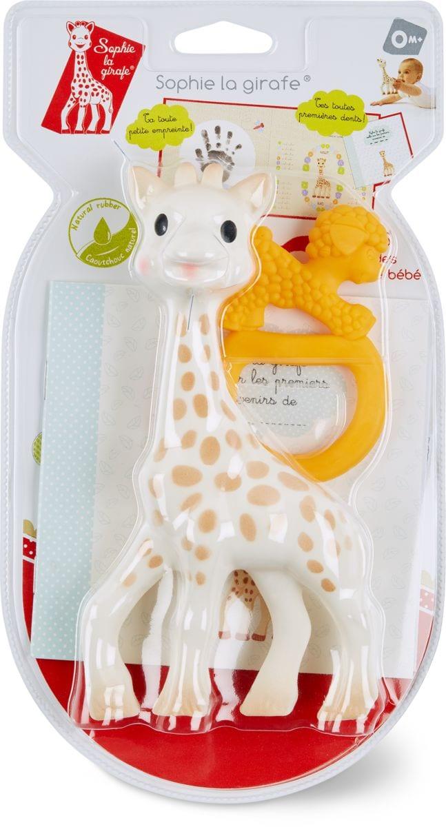 Sophie la girafe + anneau de dentition
