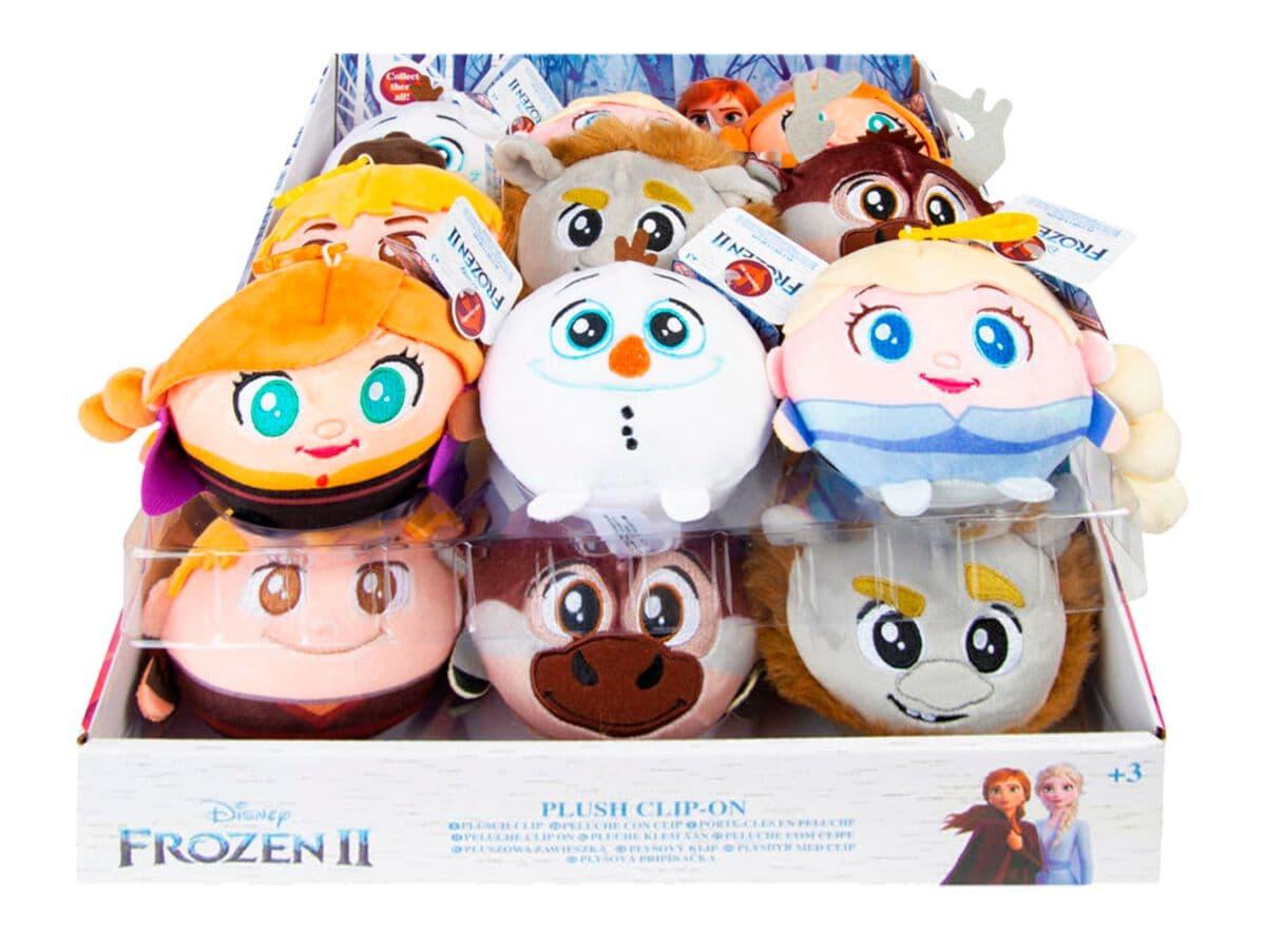 Disney Frozen 2 Squeezy 9cm mit Clips Plüsch