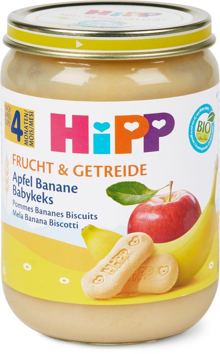 Bio HiPP Pommes bananes biscuits