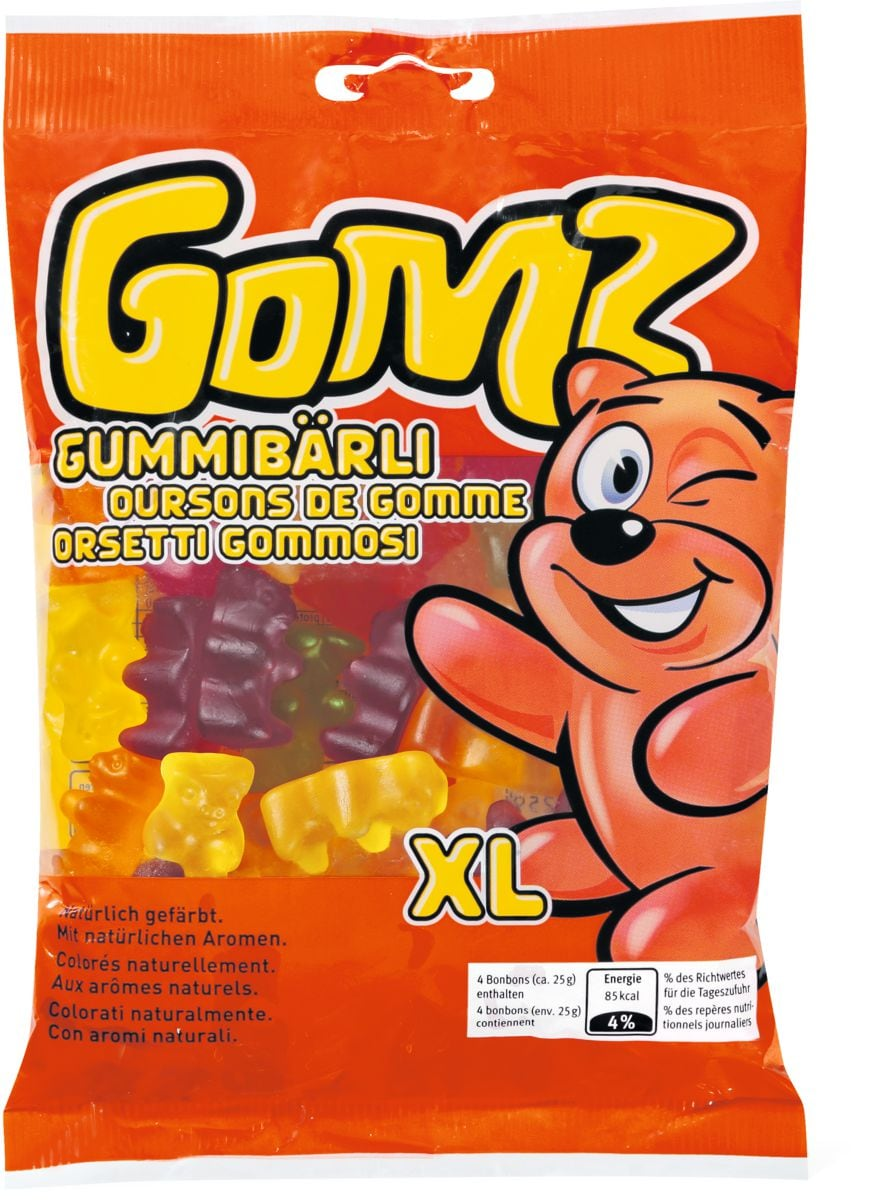 Gomz Gummi-Bärli Confiserie gélifiée