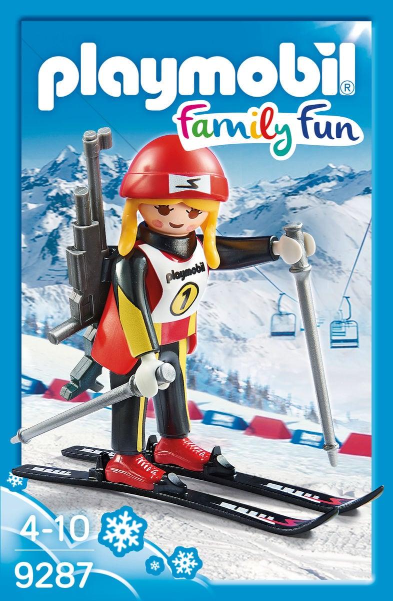 Playmobil Family Fun Campionessa di Biathlon 9287
