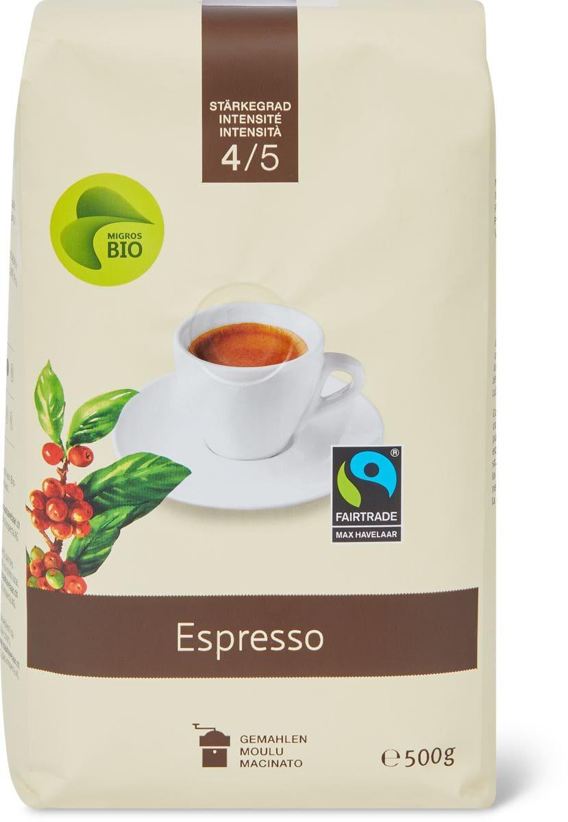 Bio Max Havelaar Espresso macinato