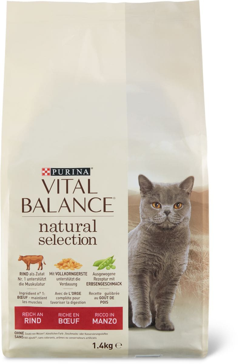 Vital Balance Natural boeuf