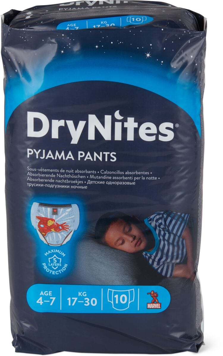Huggies DryNites Boy 4-7 Years