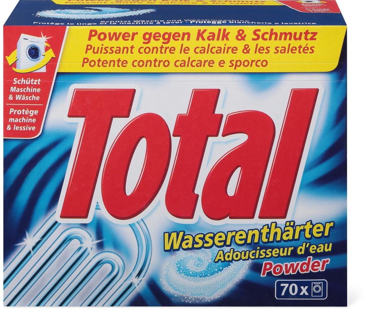 Total addolcitore d'acqua polvere