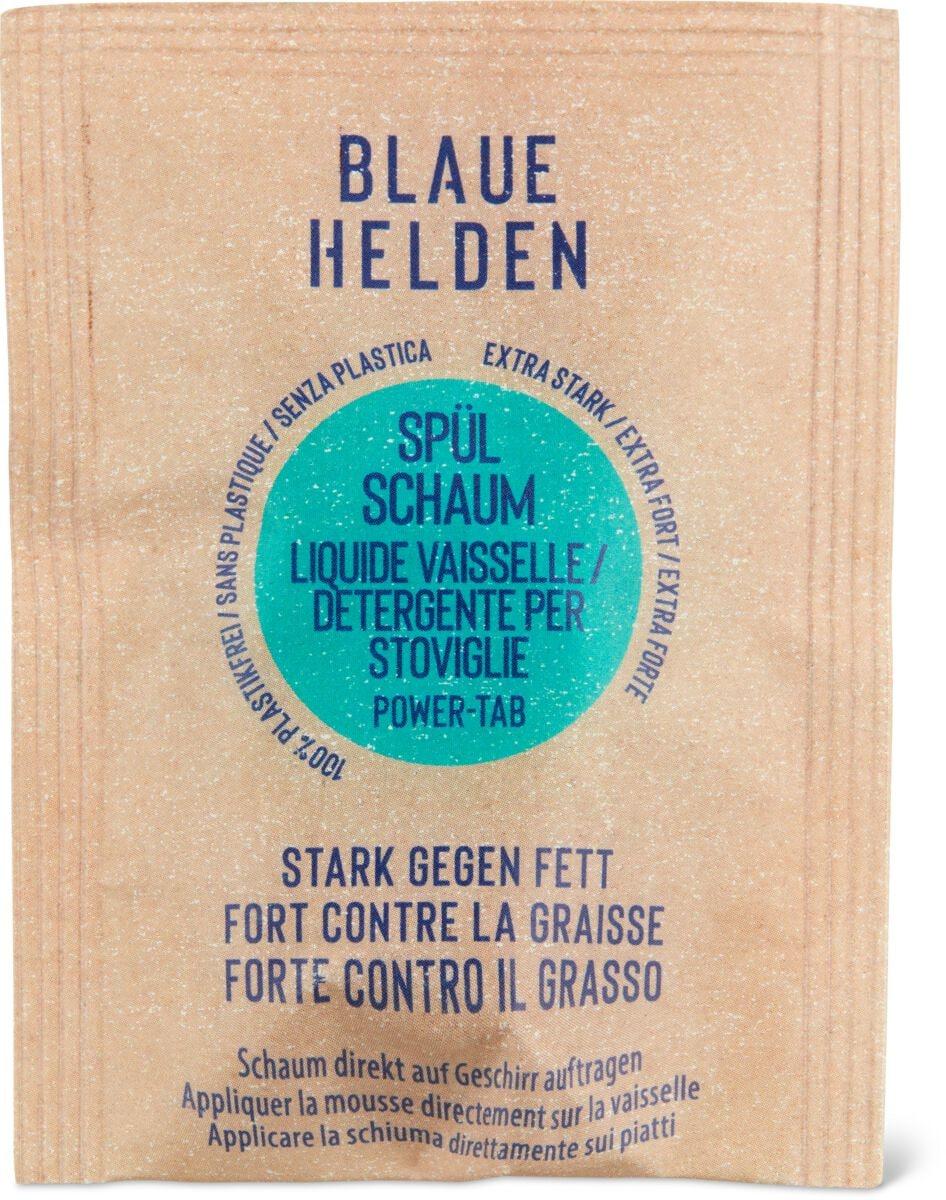 Blaue Helden Power Tab Spülschaum