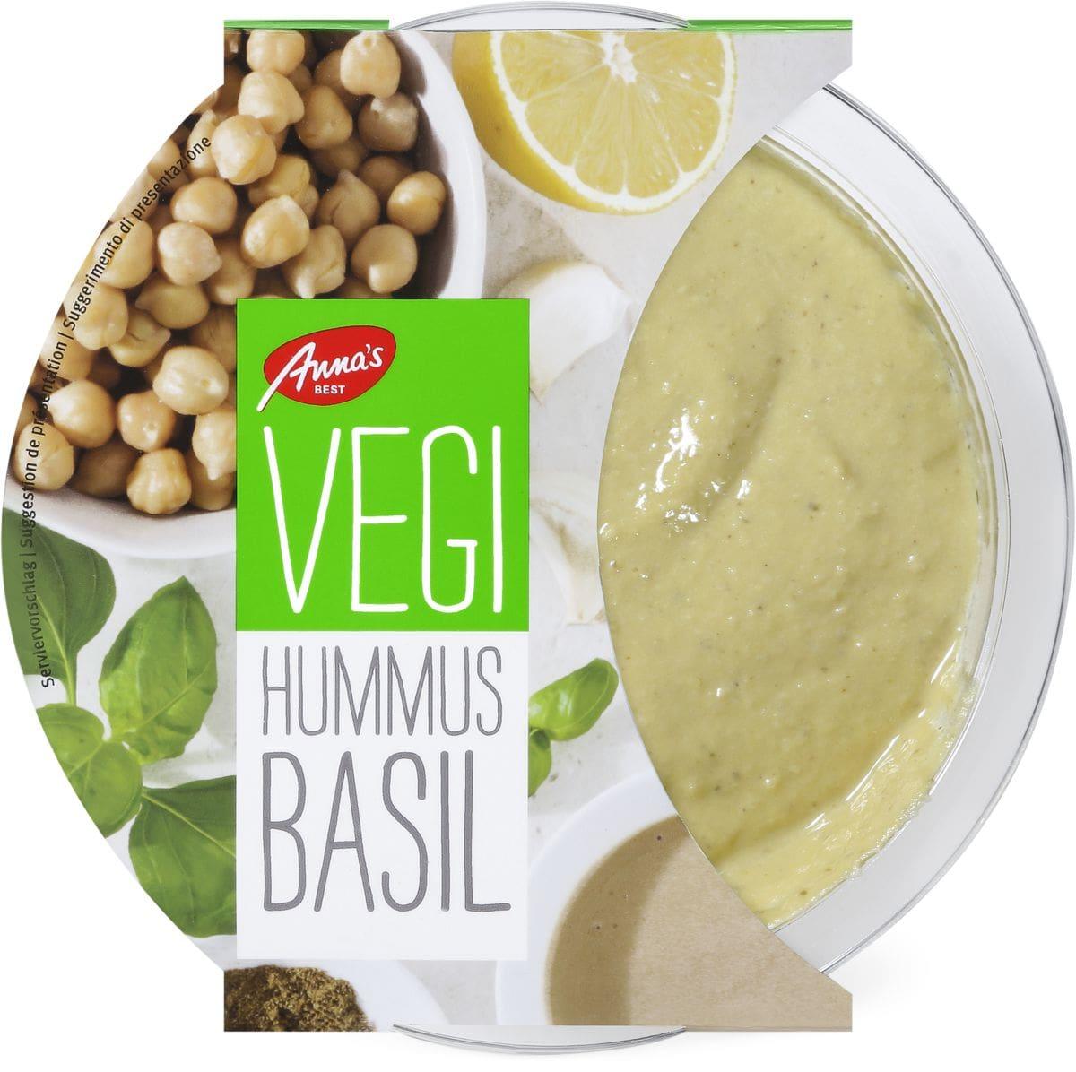 Anna's Best Vegi Hummus Basilic