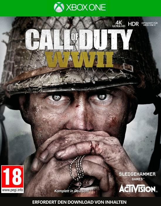 Xbox One - Call of Duty: WWII D Box
