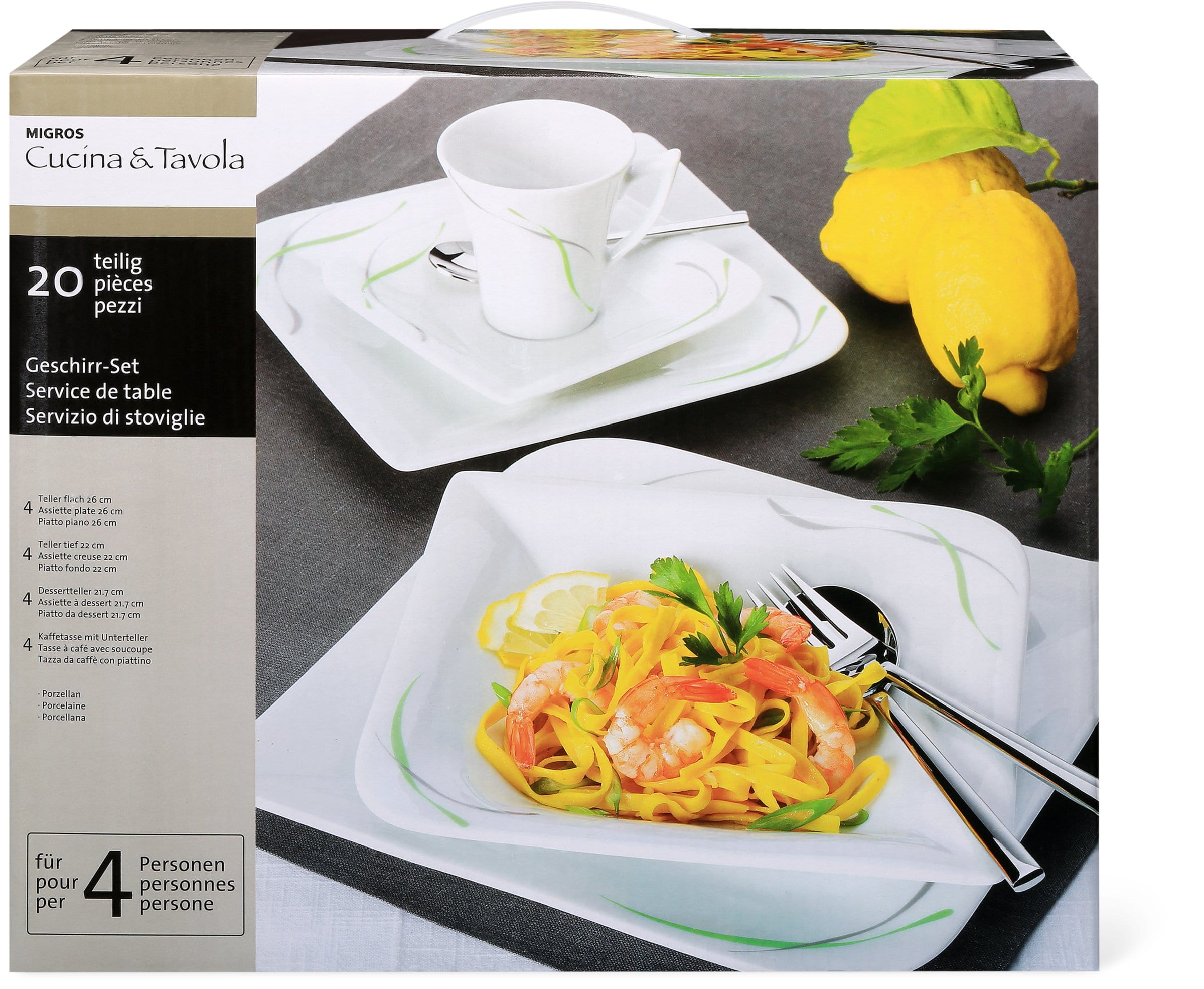 Cucina & Tavola SWING Set de vaisselle