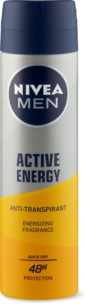 Nivea Men Deo Spray Aktive Energy