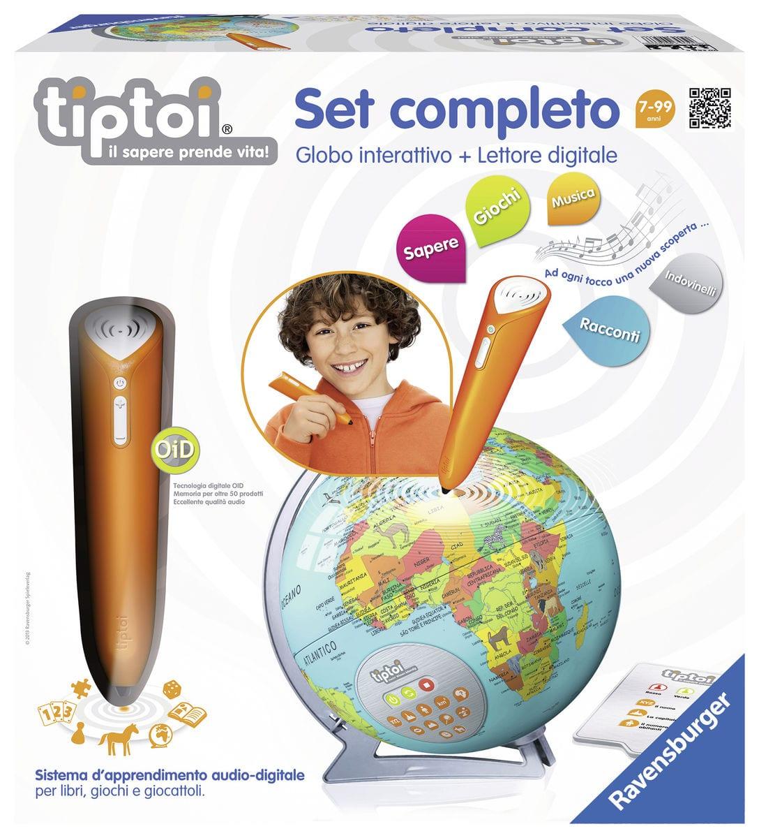 Tiptoi Starter Set Globo interattivo (I)