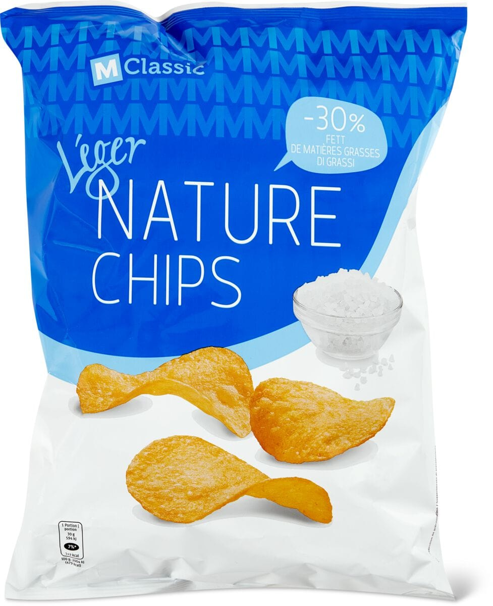 M-Classic Léger Nature Chips
