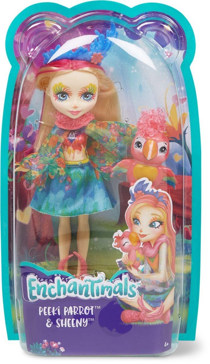 Mattel Enchantimals to base Set di bambole