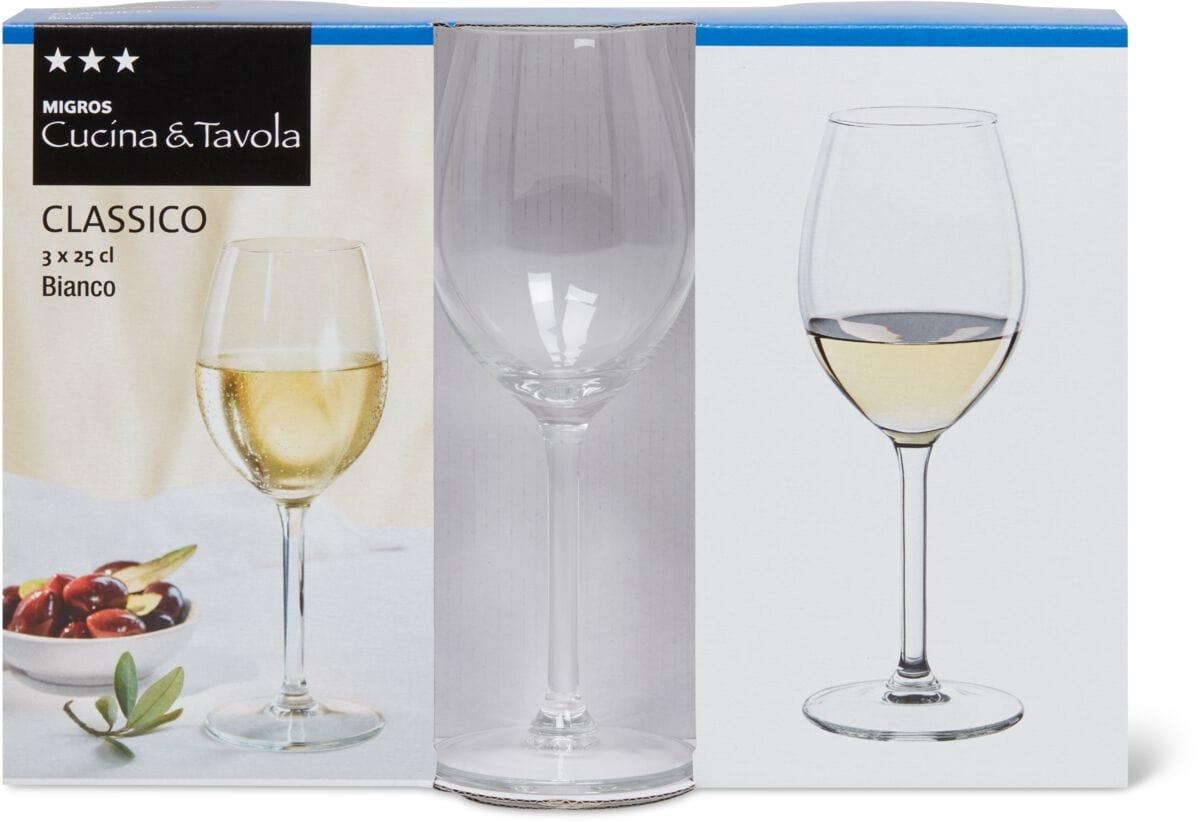 Cucina & Tavola CLASSICO Bianco Verres à vin