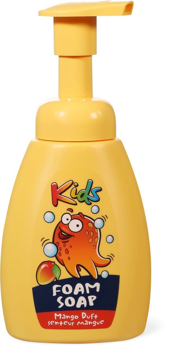 Kids foam soap mango