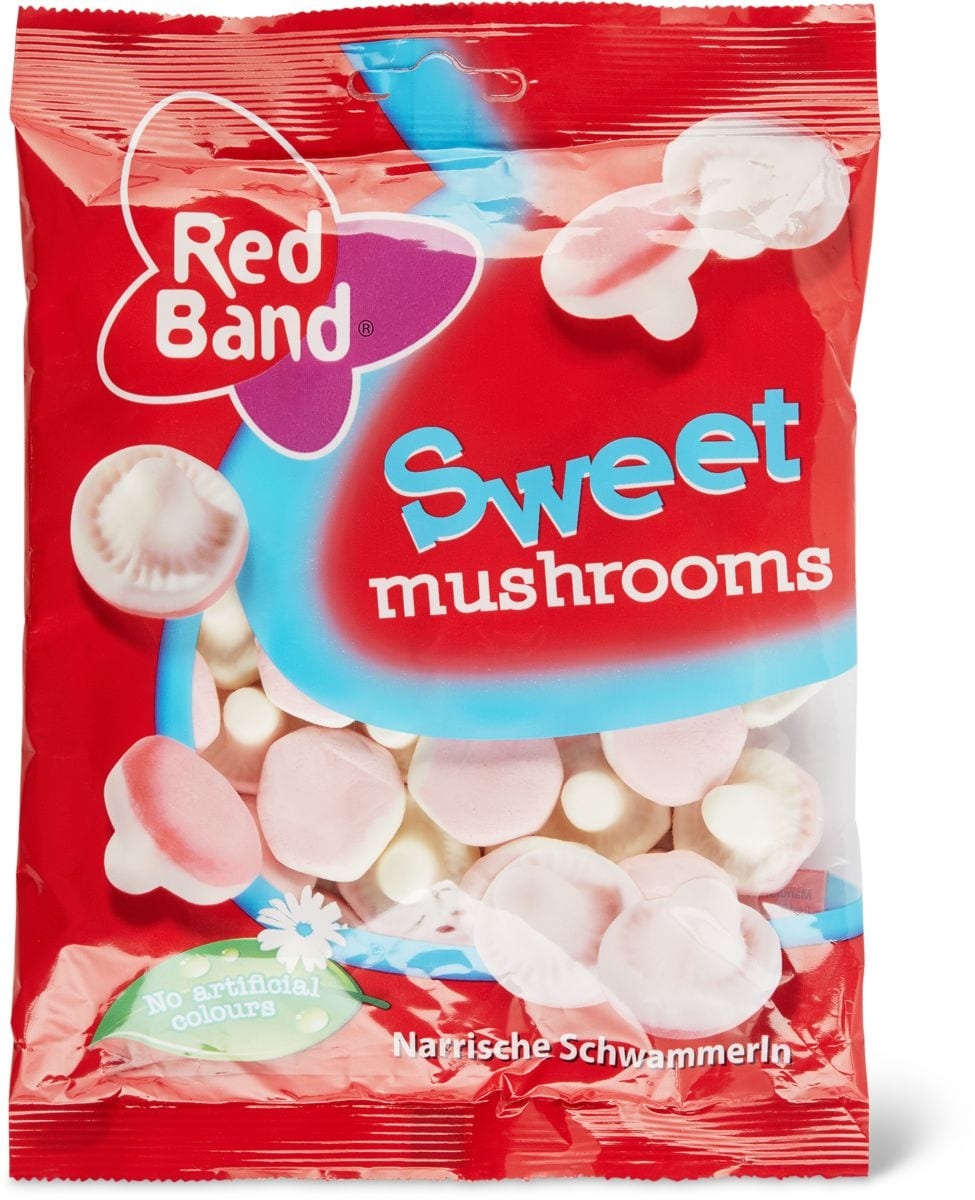 Red Band Sweet mushrooms
