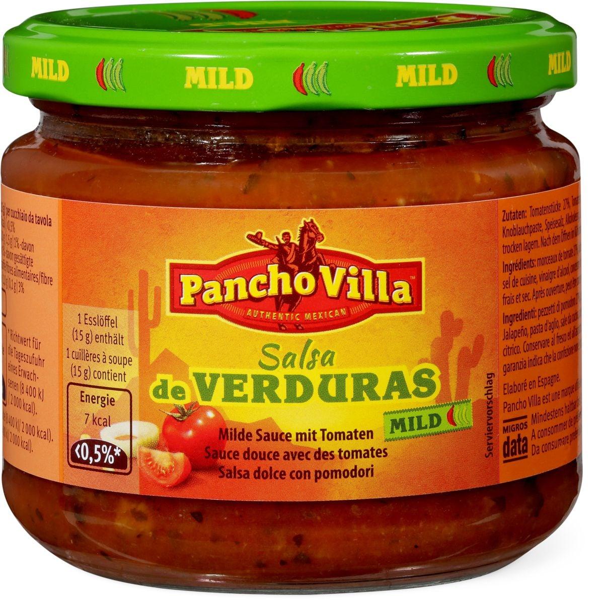 Pancho Villa Salsa de Verduras Mild