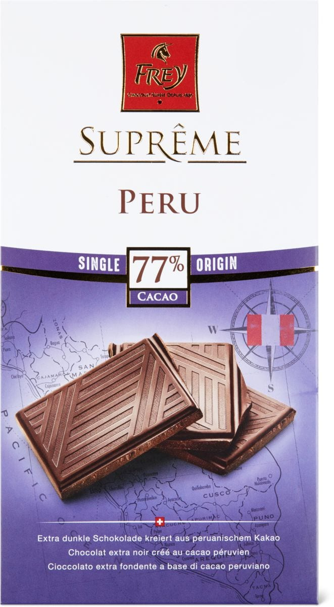 Suprême 77% cacao Peru