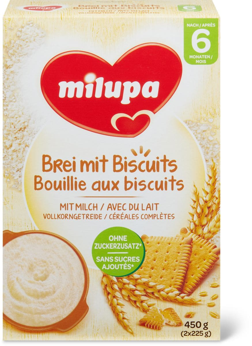 Milupa Pappa al biscotti 6+