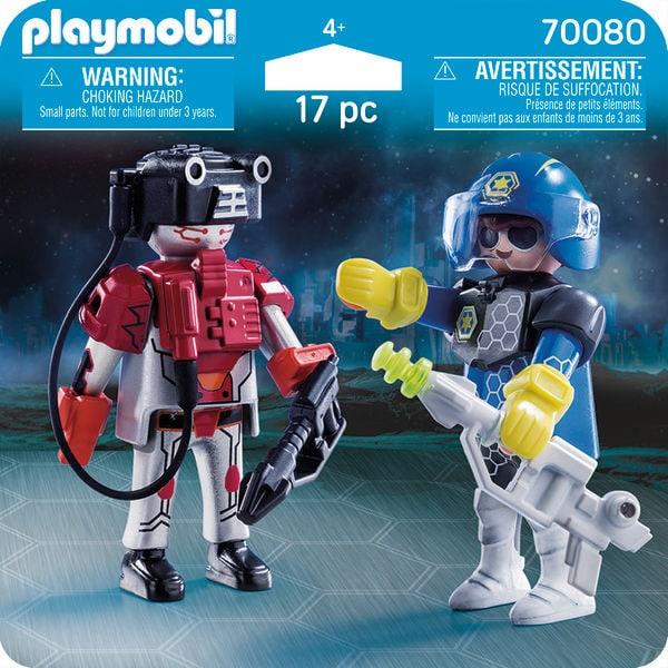 PLAYMOBIL 70080 Policier de l'espace