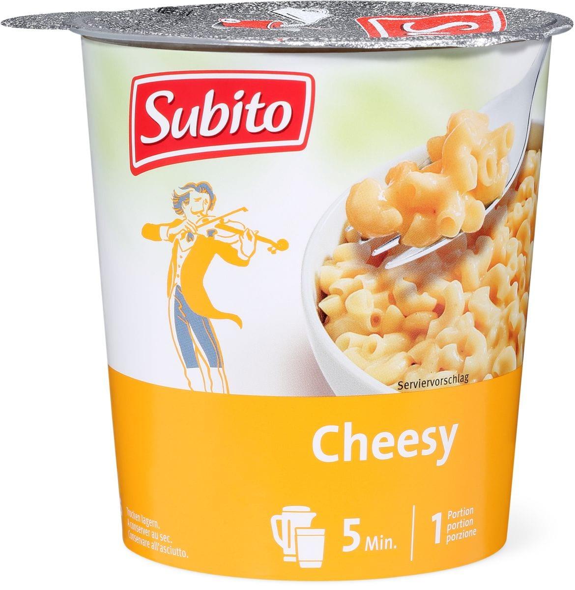 Subito Hot Snack Cheesy