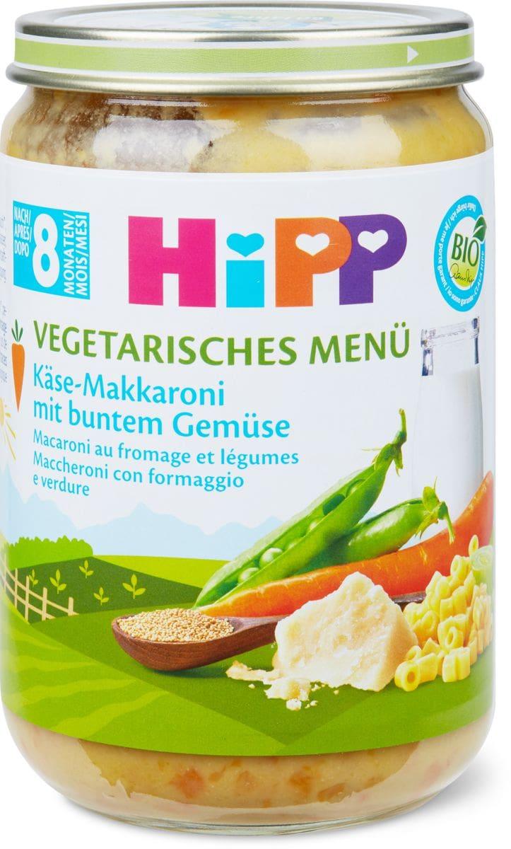HiPP Käse Makkaroni mit buntem Gemüse, ab 8. Mo.