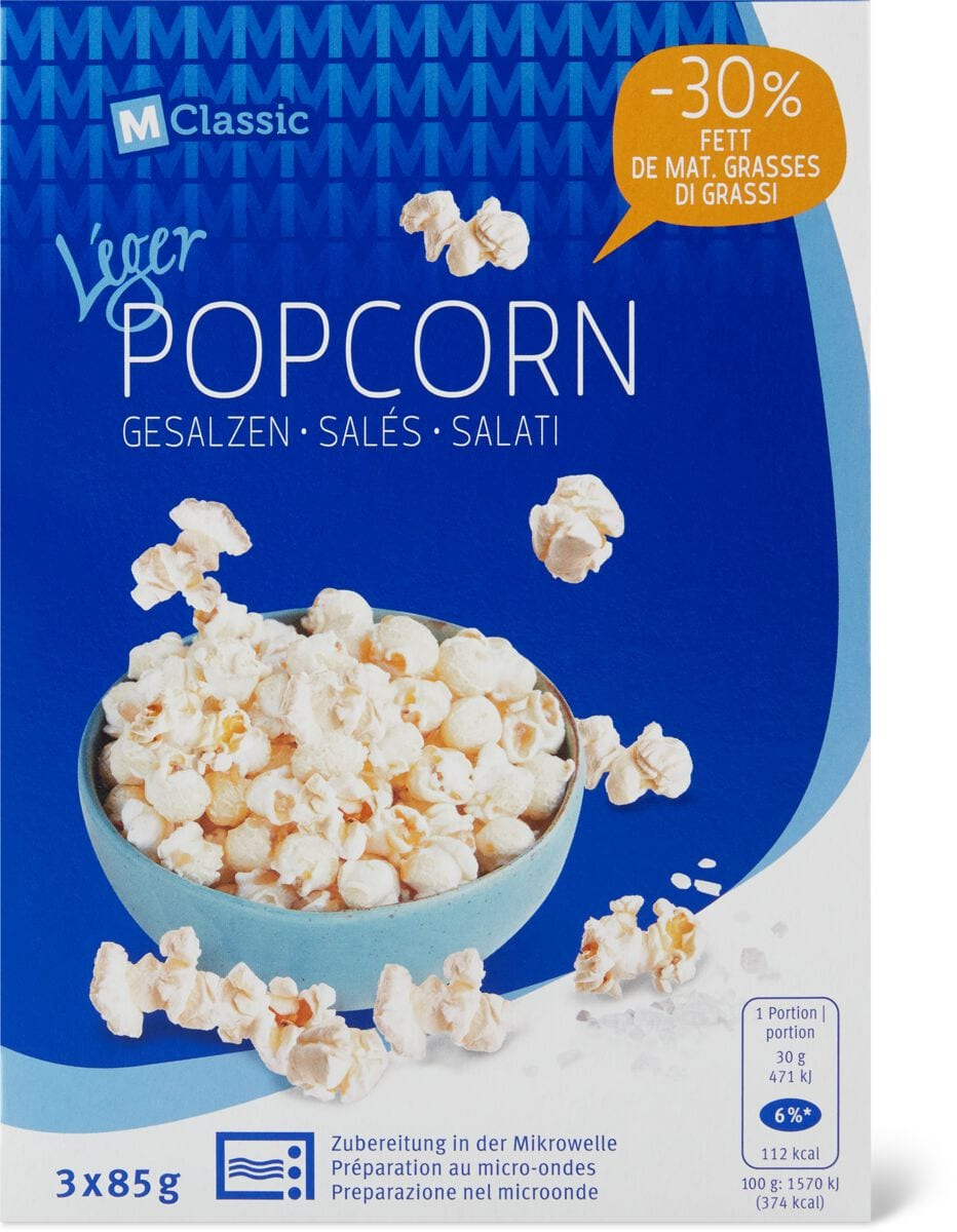 M-Classic Léger Popcorn