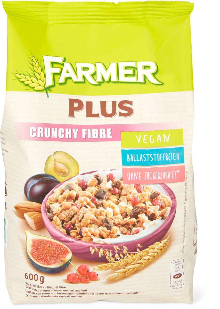 Farmer Plus Crunchy Fibre