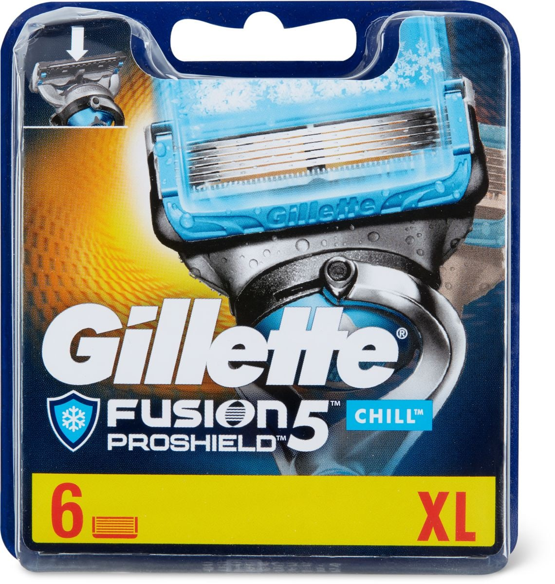 Gillette Chill Lame di ricambio
