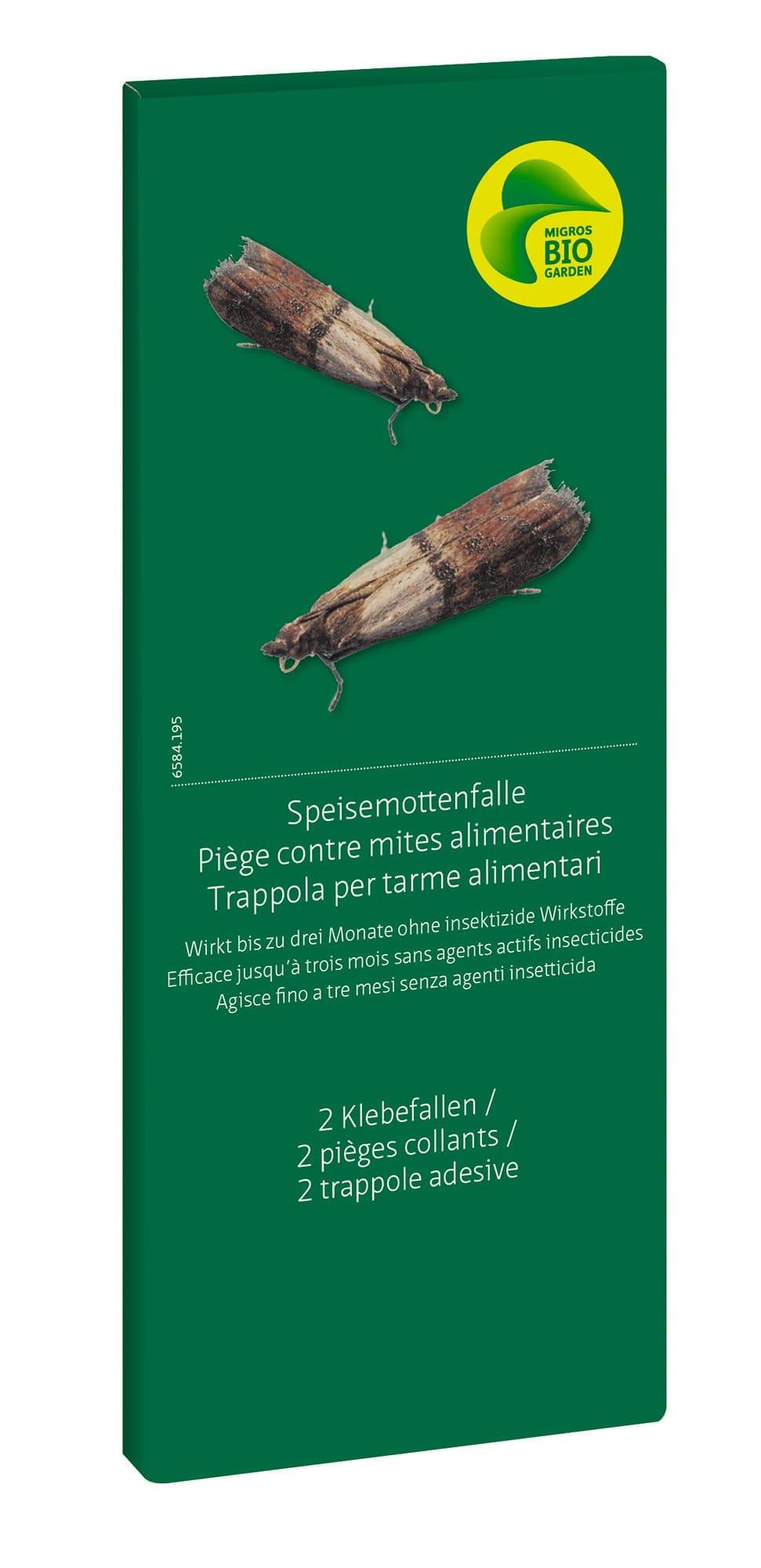 Migros-Bio Garden Speisemottenfalle, 2 Klebefallen