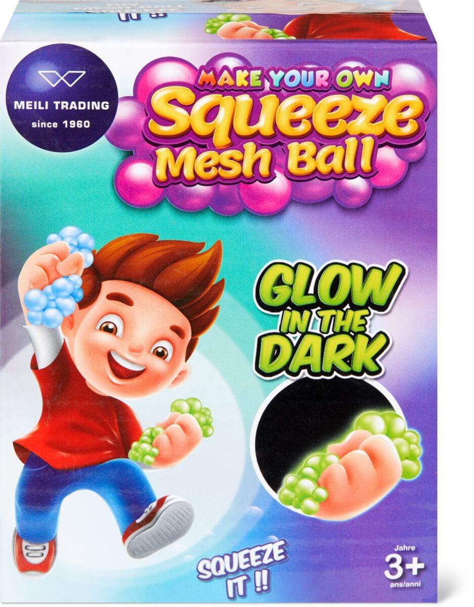 DIY Mesh Ball Glow in the dark Pongo