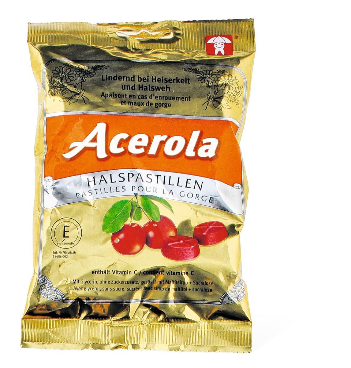 Acerola Cherry Halspastillen