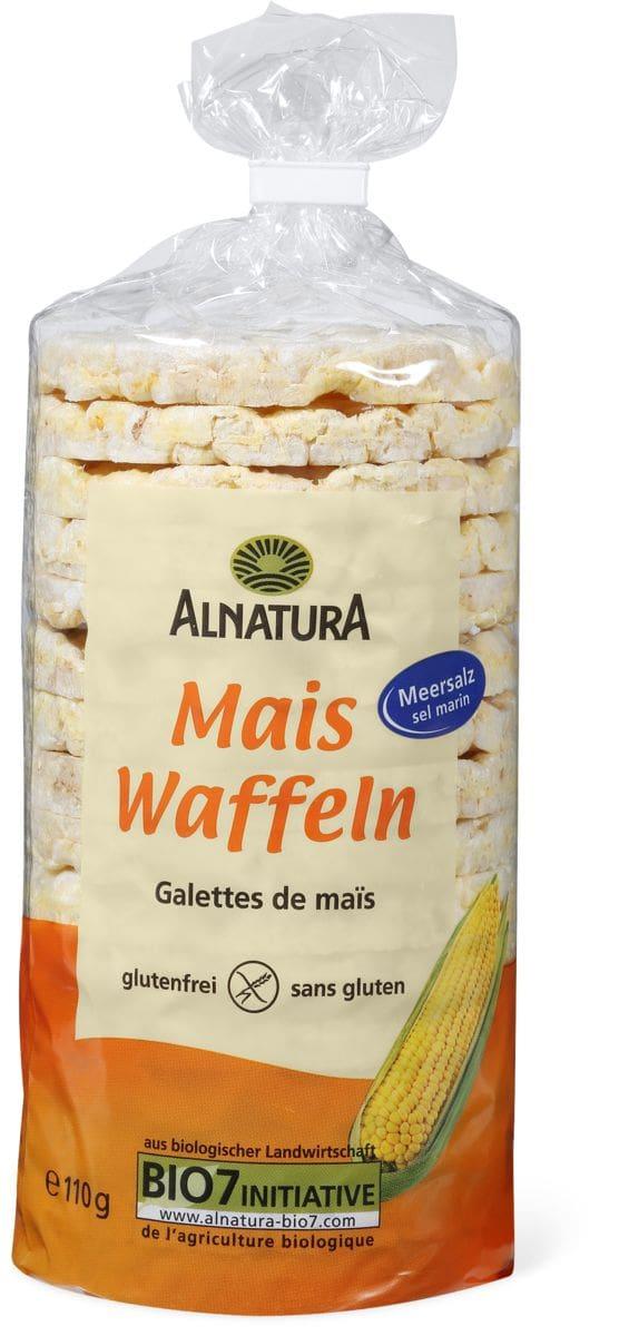 Alnatura Waffeln Mais mit Salz