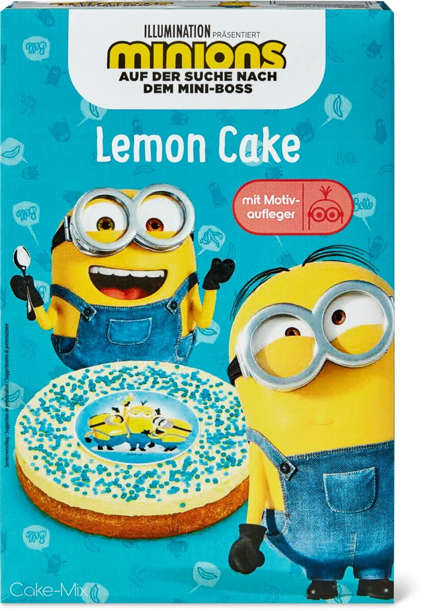 Minions Lemon Cake