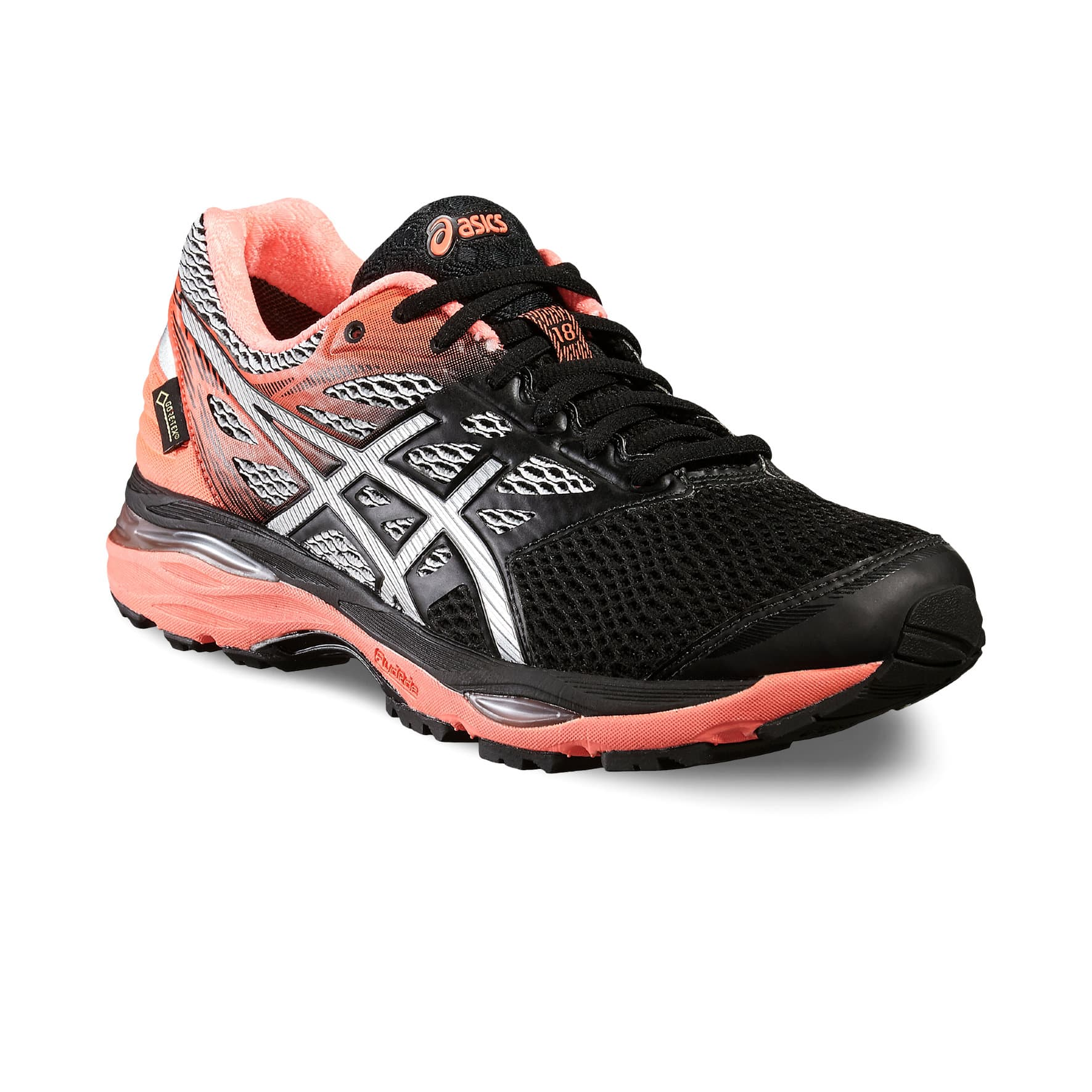 asics chaussures de course pour femme gel cumulus 18 gtx migros. Black Bedroom Furniture Sets. Home Design Ideas