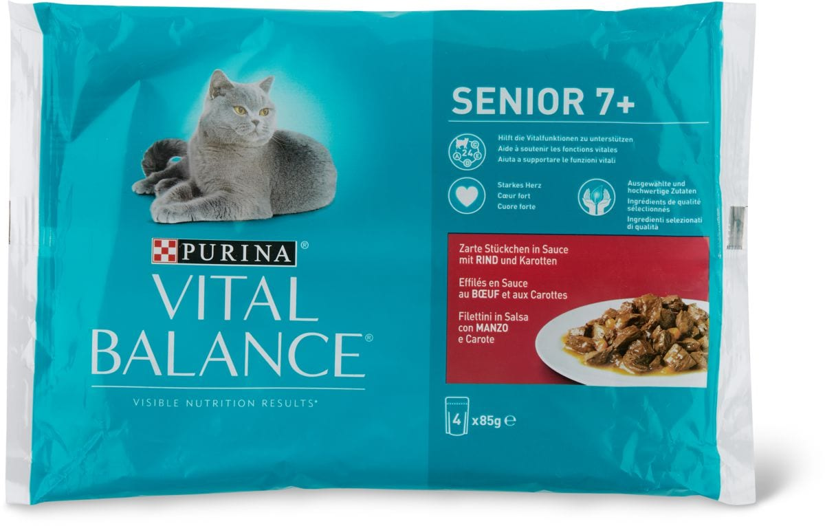 Vital Balance Senior 7+ boeuf