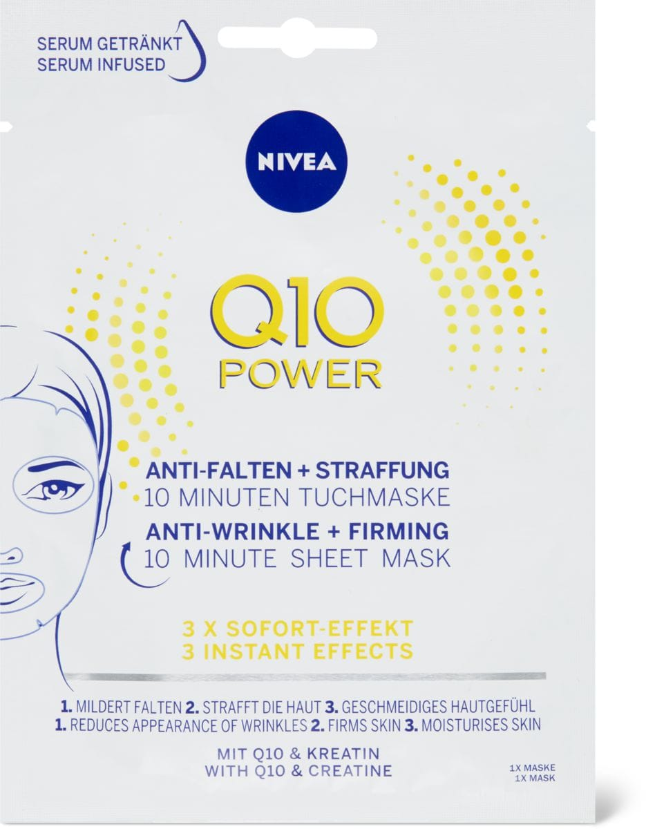 Nivea Q10 Power Tuchmaske