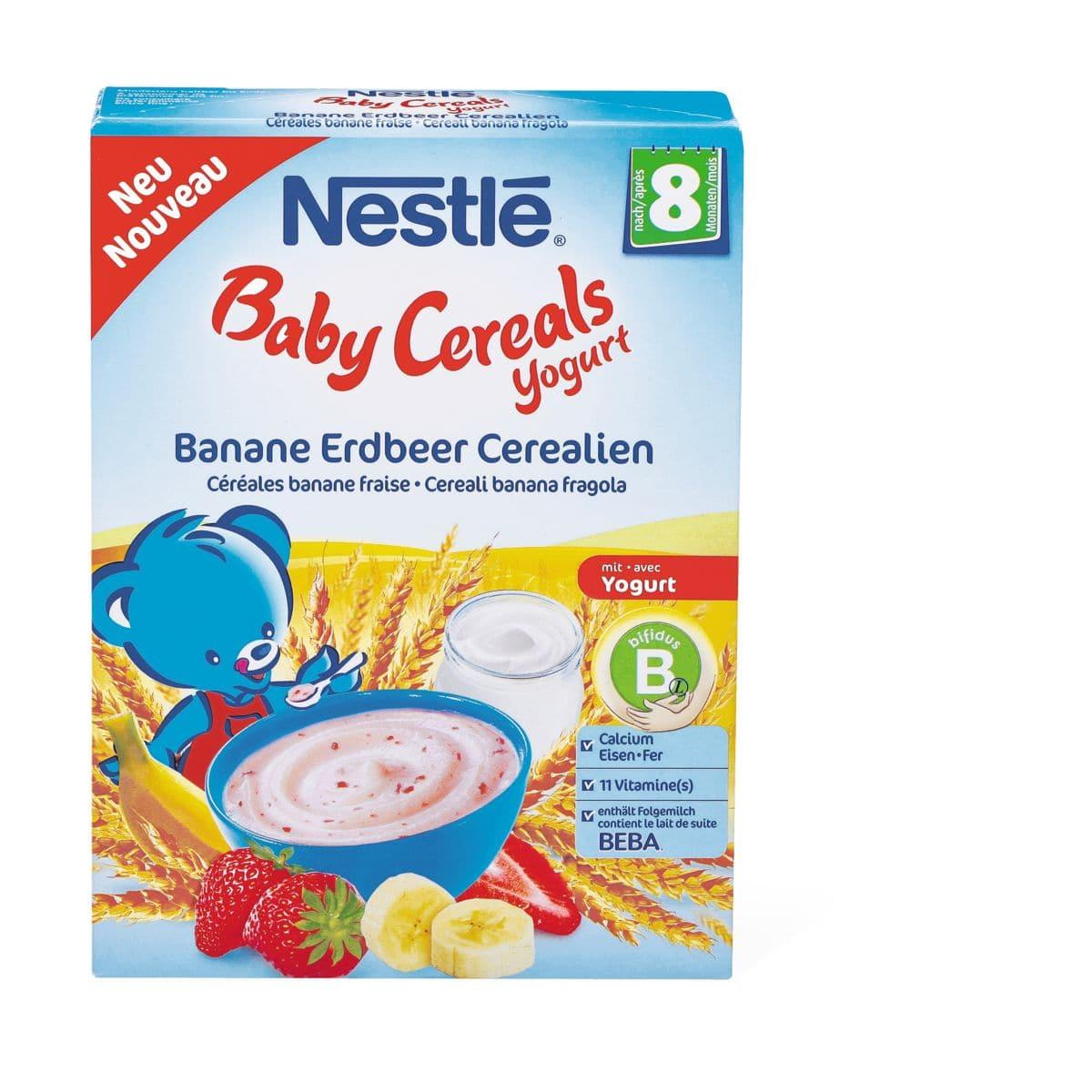Nestlé Baby Cereals Joghurt Banane-Erdbeere
