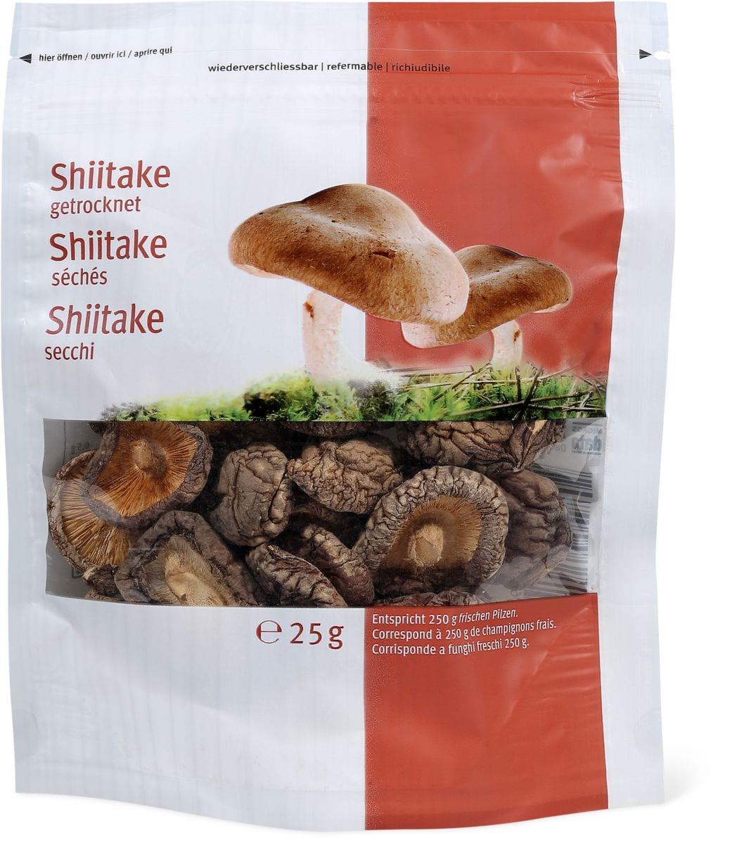 Shiitake secchi
