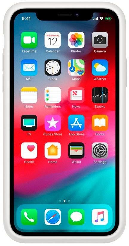 Apple iPhone XR Smart Battery Case Weiss Hülle