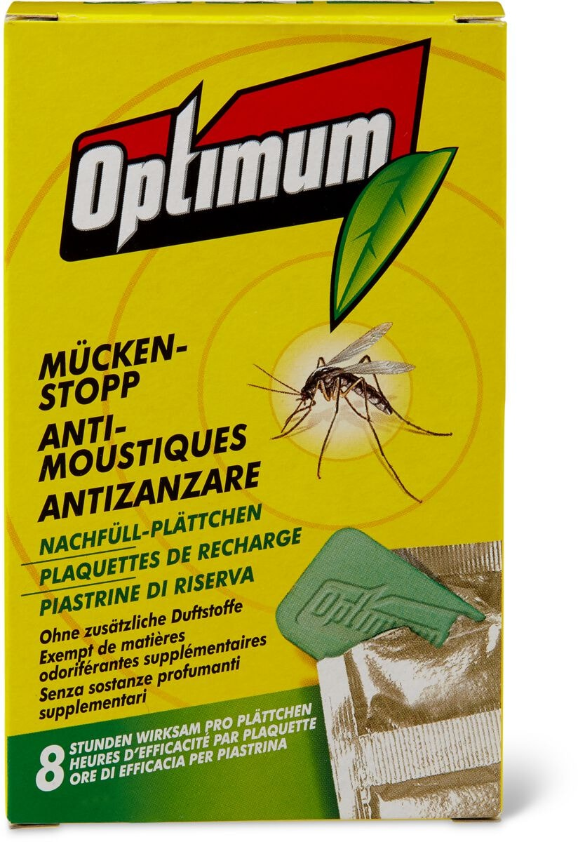 Optimum Mückenstopp Nachfüllplättchen