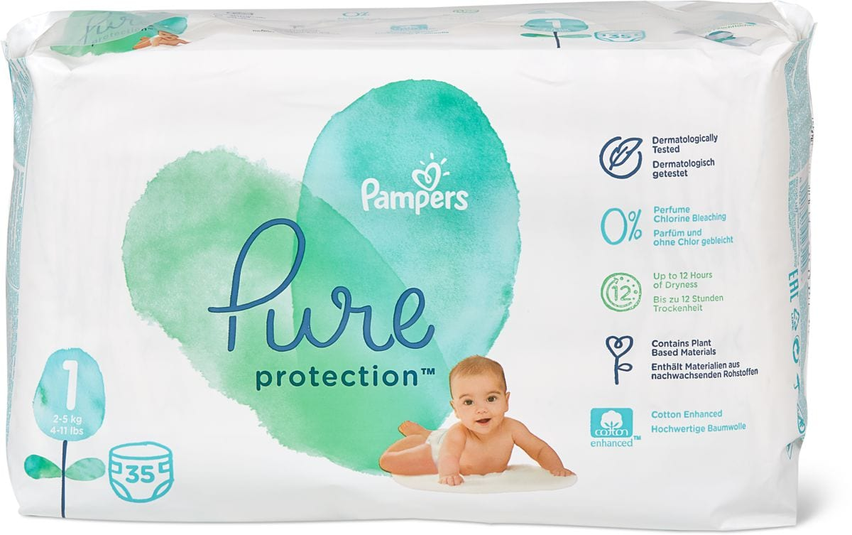 Pampers Pure Protection Gr.1