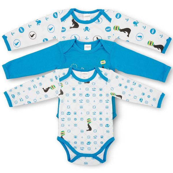 vanilleglace baby bodys 3er set lang migipedia. Black Bedroom Furniture Sets. Home Design Ideas