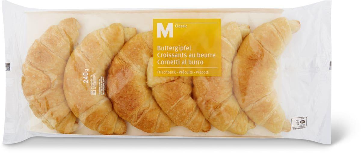 M-Classic Croissants au beurre Précuits