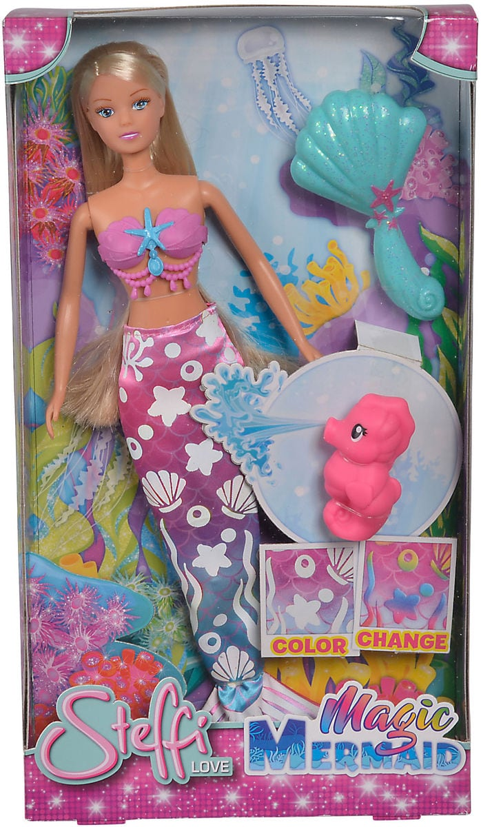 Simba Steffi Magic Mermaid Puppe